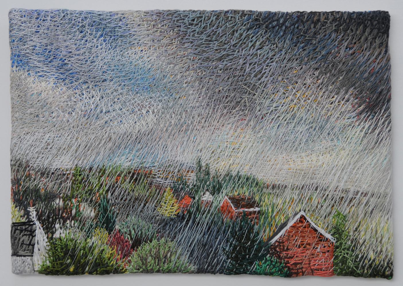 Suburban storm